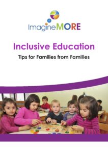 "The front cover of the booklet ""Inclusive Education: Tips for Families from Families"""