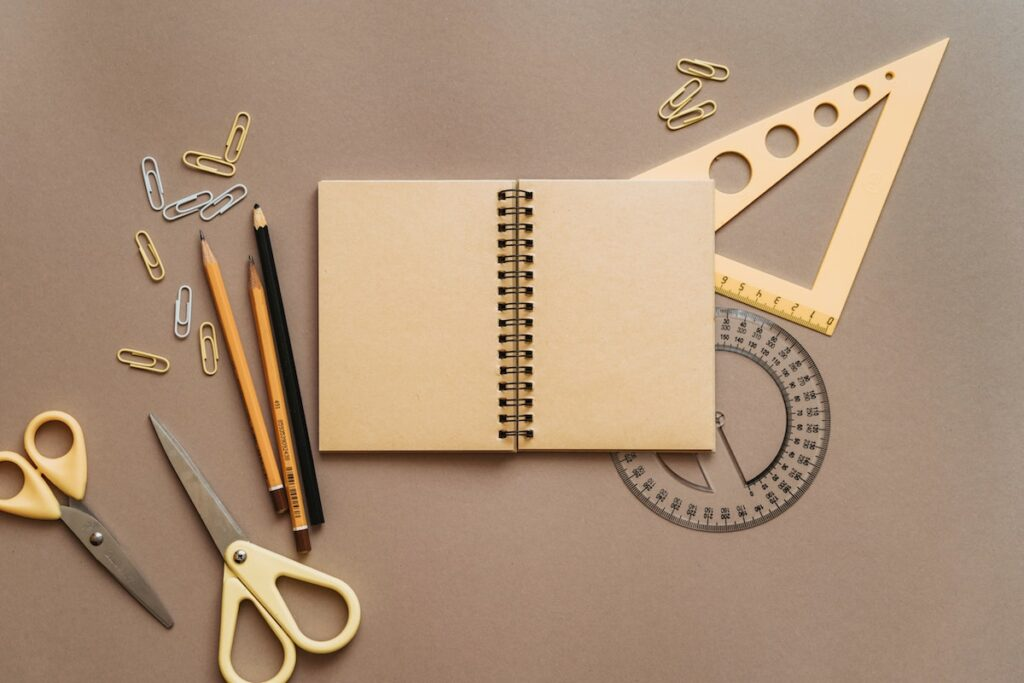 A selection of stationery