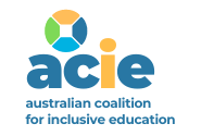 Australian Coalition of Inclusive Education logo